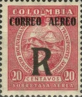 [Airmail - Stamp Registered Item - Previous Issue Overprinted