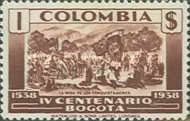 [The 400th Anniversary of City of Bogota, Typ LC]