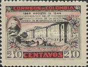 [The 75th Anniversary of General Benefit Institution of Cundinamarca, Typ NH]