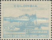 [Airmail - The 25th Anniversary of the First Airmail Service in America, Typ NX]