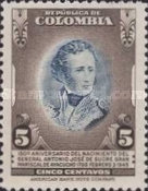 [The 150th Anniversary of the Birth of General A. J. de Sucre, 1795-1830, Typ OB]