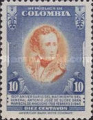 [The 150th Anniversary of the Birth of General A. J. de Sucre, 1795-1830, Typ OB2]