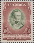 [The 150th Anniversary of the Birth of General A. J. de Sucre, 1795-1830, Typ OB4]