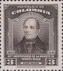 [The 80th Anniversary of the Death of Andres Bello, 1781-1865, Typ OE]