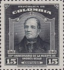 [The 80th Anniversary of the Death of Andres Bello, 1781-1865, Typ OE2]