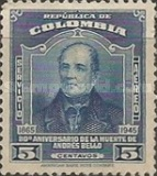 [Airmail - The 80th Anniversary of the Death of Andres Bello, 1781-1865, Typ OF]