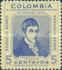[Airmail - Pan-American Press Congress, Bogota, Typ OR]