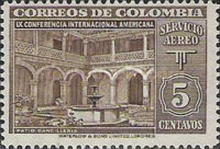 [Airmail - The 9th Pan-American Congress, Bogota, Typ OY]