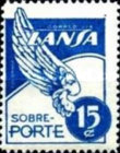[Airmail - Stamps for the Airline LANSA, type QF2]
