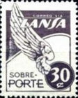 [Airmail - Stamps for the Airline LANSA, type QF4]