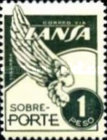 [Airmail - Stamps for the Airline LANSA, type QF6]