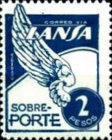 [Airmail - Stamps for the Airline LANSA, type QF7]