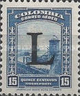 [Airmail - Previous Issues Overprinted L =