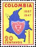 [The 60th Anniversary of Colombian Society of Engineer, type RR]