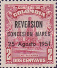 [Nationalization of Barranca Oilfields - Previous Issue Overprinted