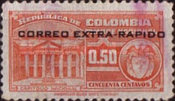 [Airmail - Fiscal Stamps - Overprinted