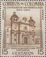 [Airmail - The 300th Anniversary of the Death of Pedro Claver, Typ UT]