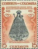 [Airmail - The 300th Anniversary of Senior College of Our Lady of the Rosary, Bogota, Typ VB1]