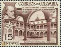 [The 300th Anniversary of Senior College of Our Lady of the Rosary, Bogota, Typ VD]