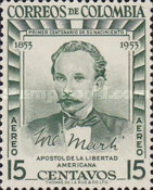 [Airmail - The 100th Anniversary of the Birth of Jose Marti, 1853-1895, Typ VP1]
