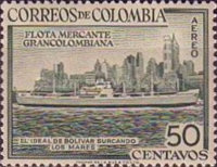 [Airmail - Greater Colombia Merchant Marine Commemoration, Typ VS1]
