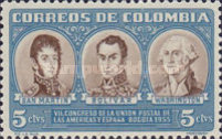 [The 7th Postal Union Congress of the Americas and Spain, Typ WD]