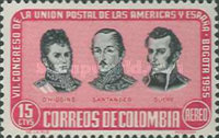 [Airmail - The 7th Postal Union Congress of the Americas and Spain, Typ WF]
