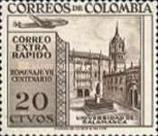 [Airmail - Stamps for Domestic Airmail and 700th Anniversary of Salamanca University, Typ WS]
