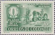 [Airmail - The 25th Anniversary of Agricultural Credit Bank, Typ XW1]