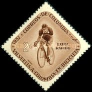 [Airmail - The 7th Round Colombia Cycle Race, Typ XXC]