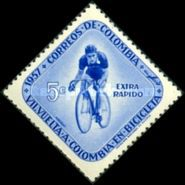 [Airmail - The 7th Round Colombia Cycle Race, Typ XXC1]