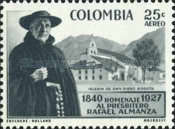 [Airmail - Father Almanza Commemoration, Typ XXV1]