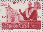 [Airmail - The 100th Anniversary of the Birth of Monsignor R. M. Carrasquilla, Typ XXX1]