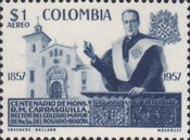 [Airmail - The 100th Anniversary of the Birth of Monsignor R. M. Carrasquilla, Typ XXX2]