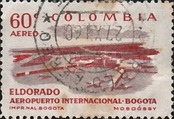 [Airmail - Inauguration of Eldorado Airport in Bogota, type ZL1]