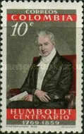 [The 100th Anniversary of the Death of Alexander von Humboldt, 1769-1859, Typ ZN]