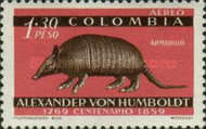 [Airmail - The 100th Anniversary of the Death of Alexander von Humboldt, 1769-1859, type ZQ]