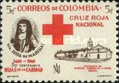 [Red Cross; The 300th Anniversary of the Death of St. Louisa de Marillac, 1591-1660, type AC]