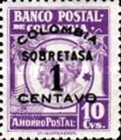 [Postal Savings Bank Stamps Overprinted