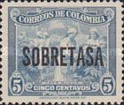 [Postage Stamp of 1949 Overprinted