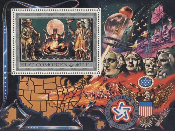 [Airmail - The 200th Anniversary of Independence of the United States of America, type ]