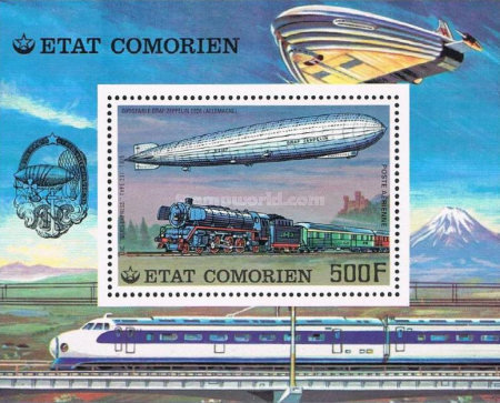 [Airmail - History of Communications - Airships and Railways, Typ ]