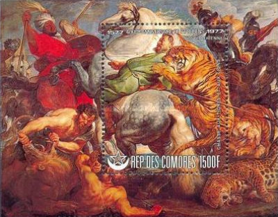 [Airmail - The 400th Anniversary of the Birth of Rubens, type ]