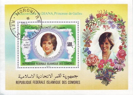 [Airmail - The 21st Anniversary of the Birth of Diana, Princess of Wales 1961-1997, Typ ]