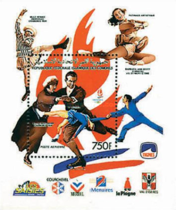 [Winter Olympic Games - Albertville 1992, France - Medal Winners at Previous Games, type ]