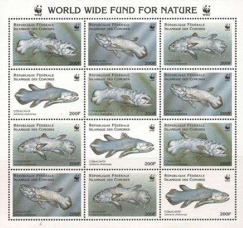 [Worldwide Nature Protection - Coelacanth, type ]