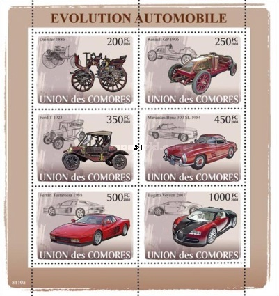 [Transportation - Evolution of the Car, type ]