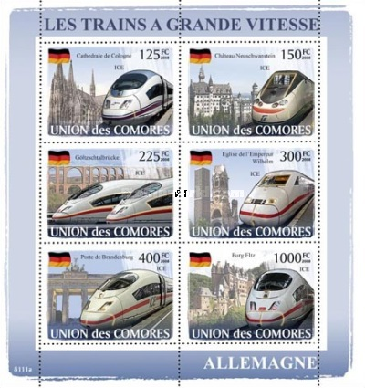 [Transportation - Express Trains from all over the World, type ]