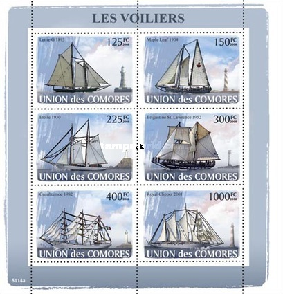 [Transportation at Sea - Sailing Ships, type ]