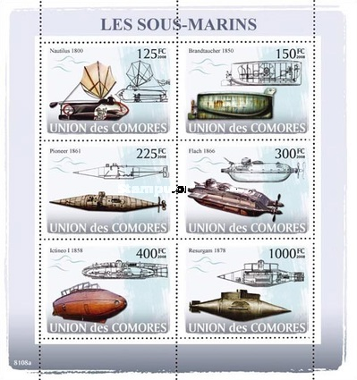 [Transportation at Sea - Submarines, type ]